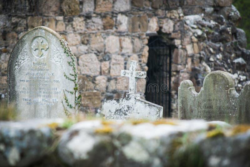 Starzy irlandzcy grobowowie obraz royalty free