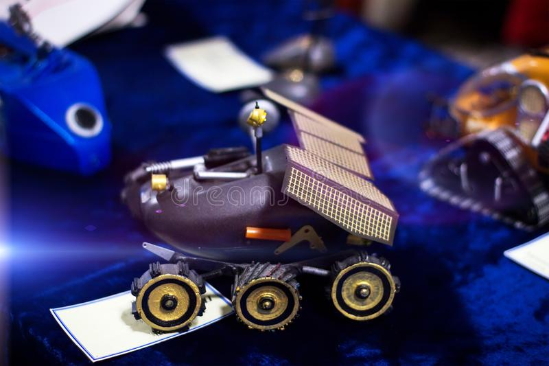 Starzy klasyk cyny zabawki roboty zdjęcie royalty free