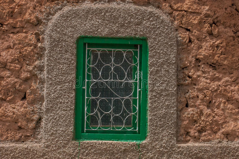 Starzy Marokańscy berbers okno obrazy royalty free
