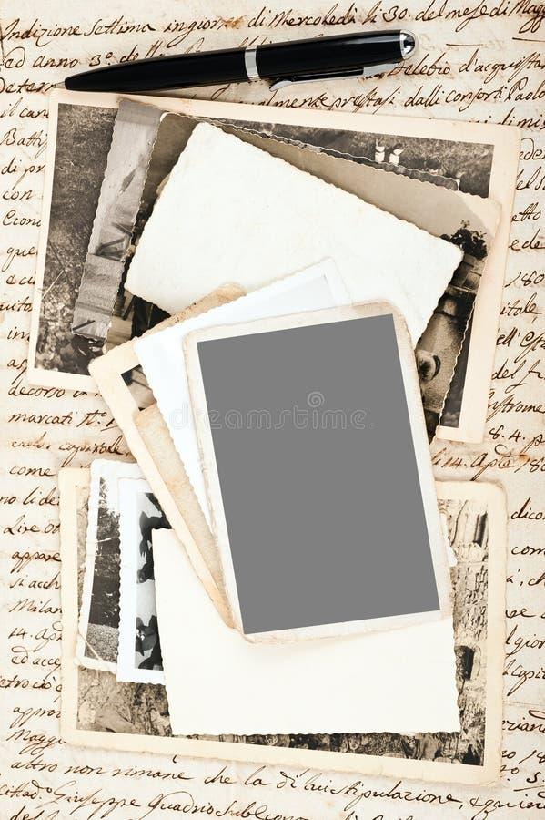 Download Starzy obrazki zdjęcie stock. Obraz złożonej z maska - 28959442