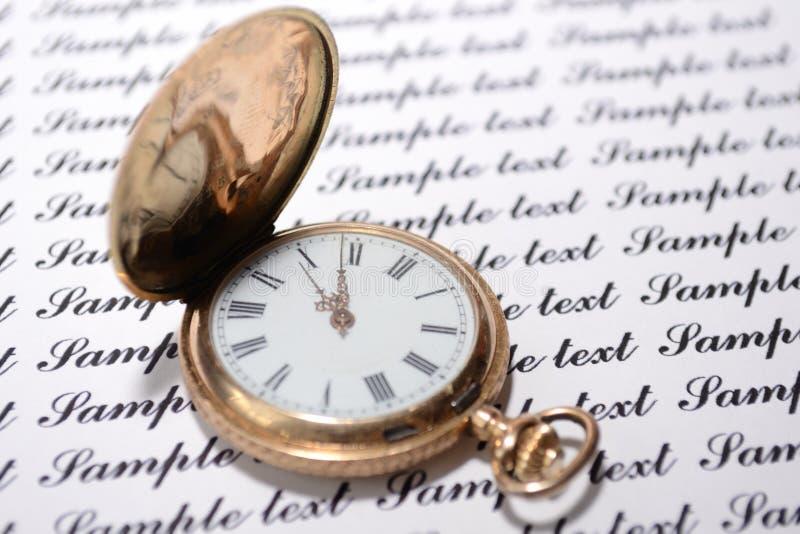 starzy zegarki zdjęcia royalty free