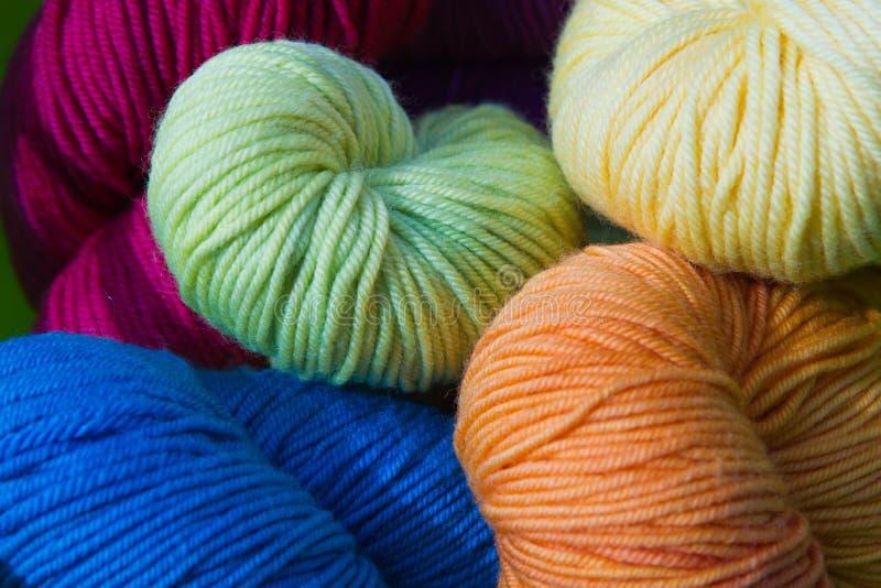 Download Stash of Yarn stock image. Image of green, needle, macro - 19038065