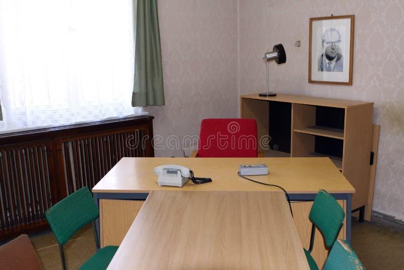 Stasi Gefängnis Hohenschoenhausen lizenzfreies stockfoto