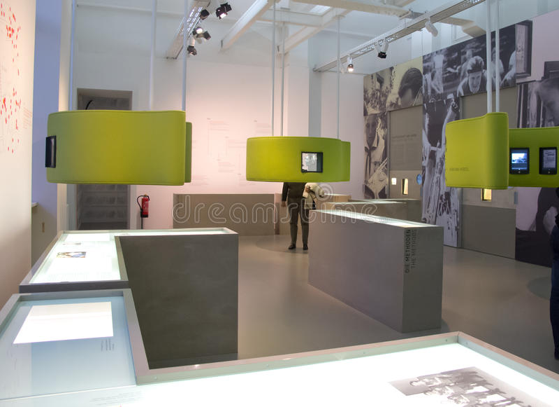 The STASI Museum in Berlin stock image