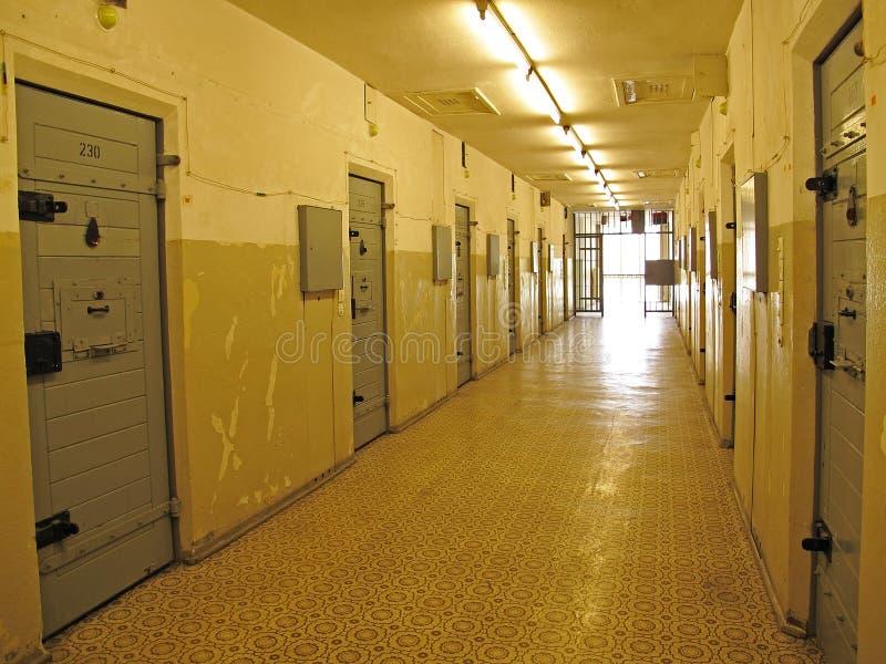 Stasi Prison Berlin royalty-vrije stock foto