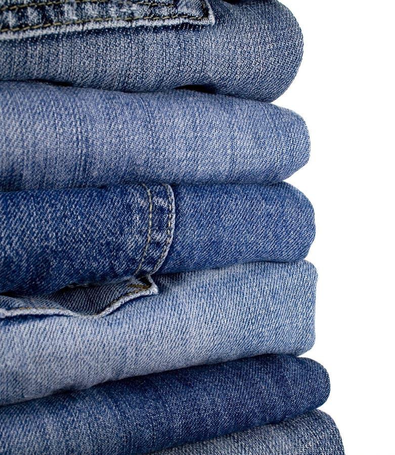 Stask des jeans images libres de droits