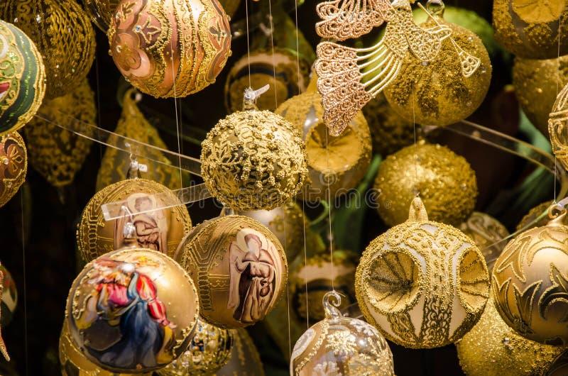 Stass av jul Julen klumpa ihop sig fotografering för bildbyråer