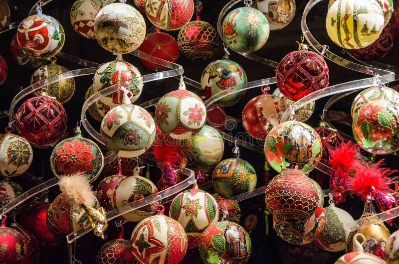 Stass av jul Julen klumpa ihop sig royaltyfri bild