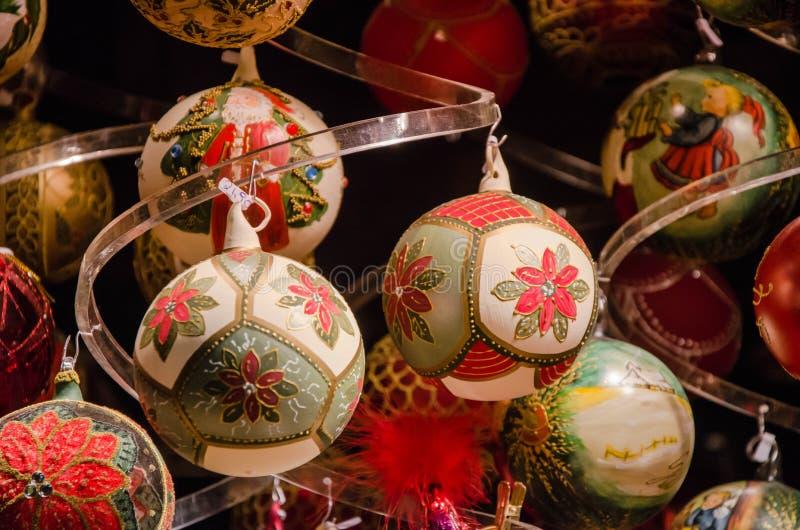 Stass av jul Julen klumpa ihop sig royaltyfri fotografi