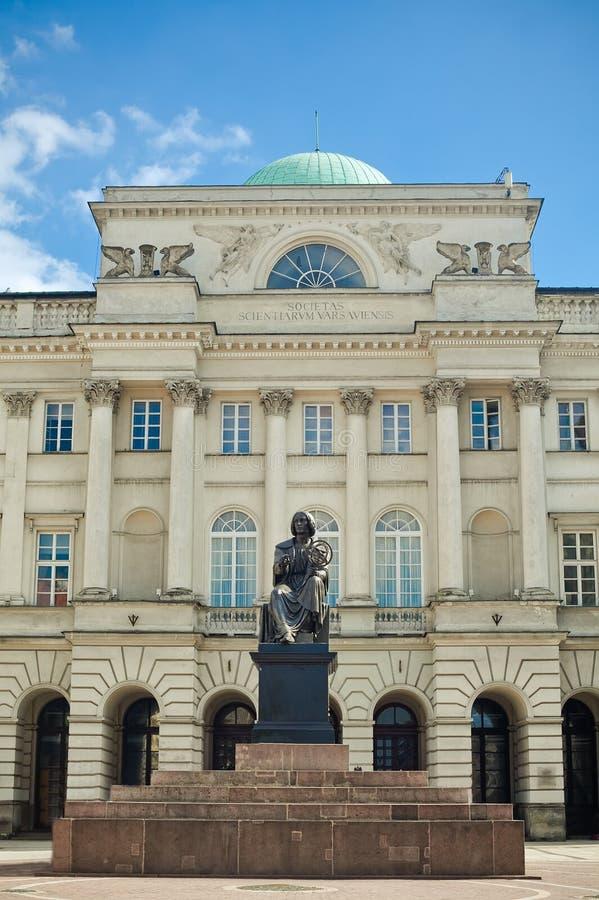 staszic的宫殿 免版税图库摄影