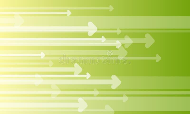 stat предпосылки стрелки иллюстрация вектора