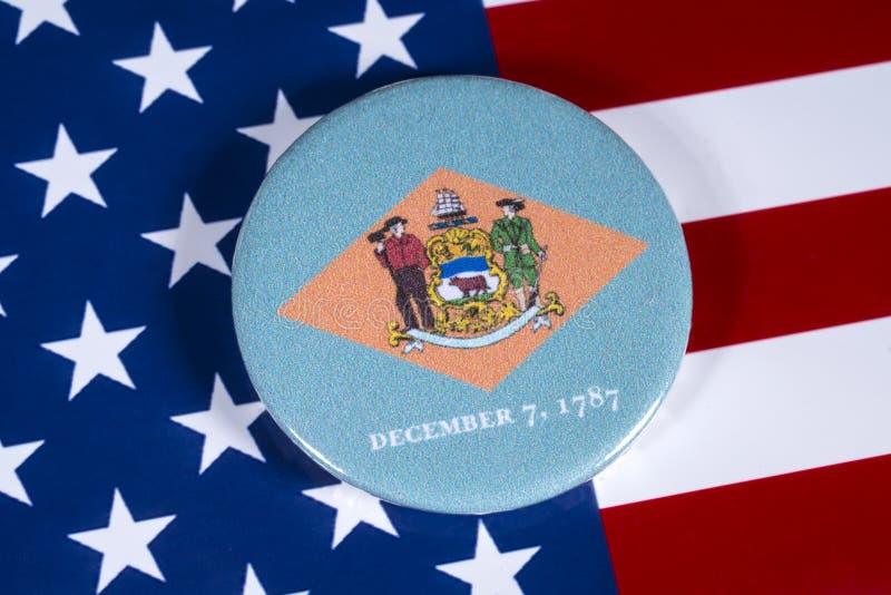 Stat av Delaware i USA fotografering för bildbyråer