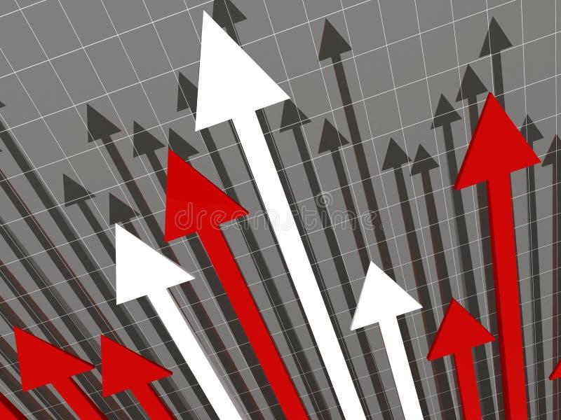 Stat financière illustration libre de droits