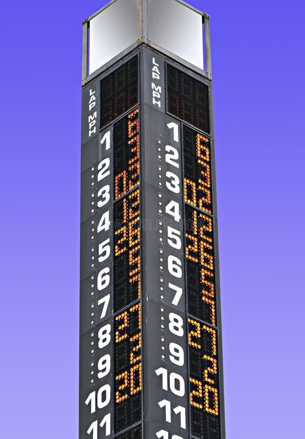 Stat toren-pool stock foto