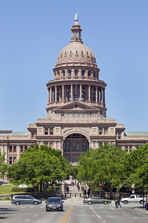 State Capital of Texas royalty free stock image