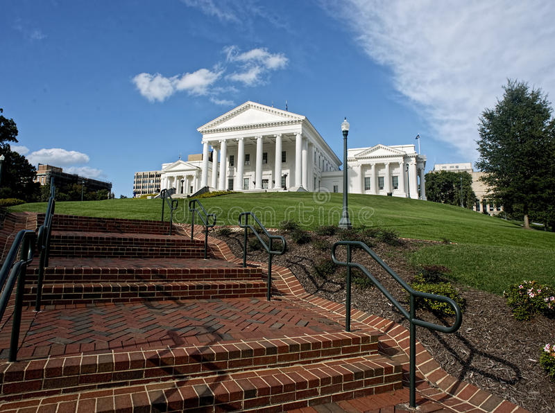 State Capital of Virginia. stock image