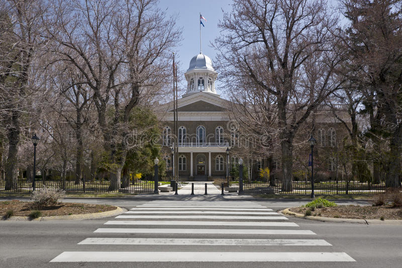 State Capitol Building, Carson City, Nevada. Nevada State Capitol Building, Carson City, Nevada royalty free stock photography