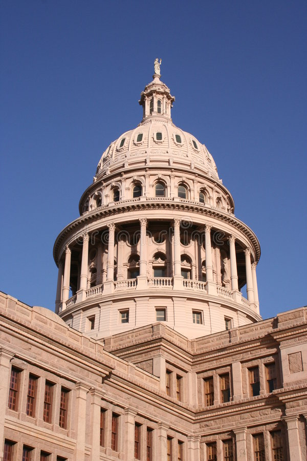 State Capitol Building in downtown Austin, Texas royalty free stock image