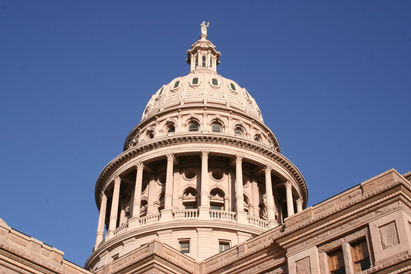 State Capitol Building in downtown Austin, Texas royalty free stock photography
