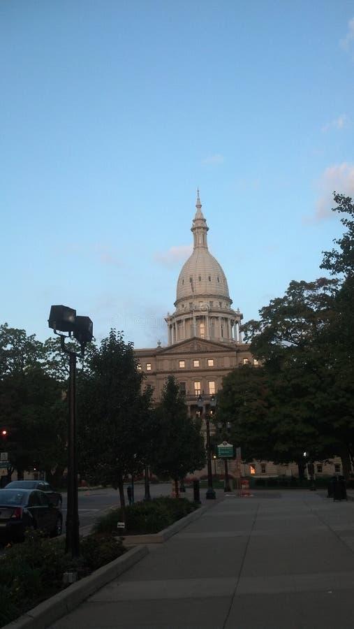 State Capitol Building Lansing Michigan. Capitol building Lansing Michigan royalty free stock images