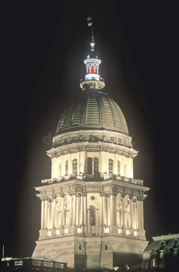 Download State Capitol of Illinois stock photo. Image of daytime - 23166028