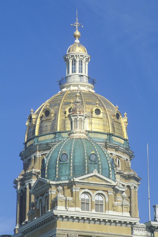 State Capitol of Iowa stock photo