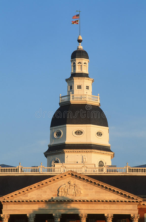 Download State Capitol of Maryland stock image. Image of scenic - 23168171