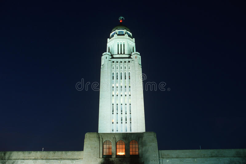 State Capitol of Nebraska, royalty free stock photography