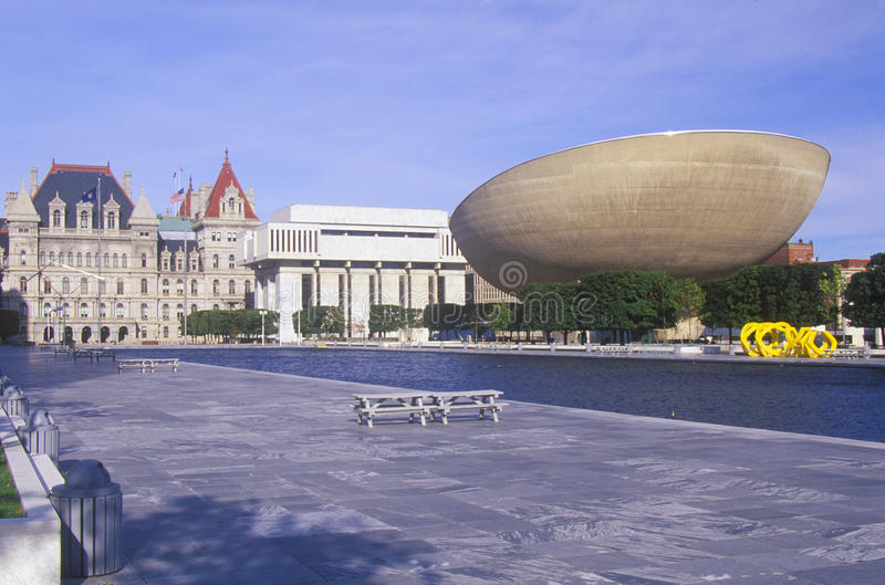 State Capitol of New York royalty free stock images