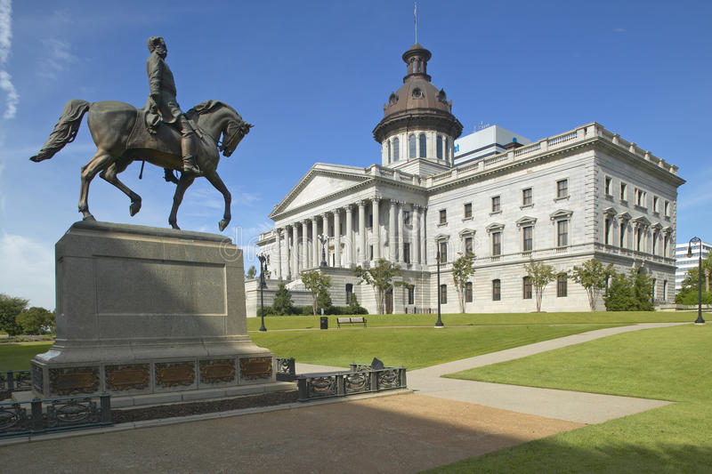 State Capitol of South Carolina stock photography