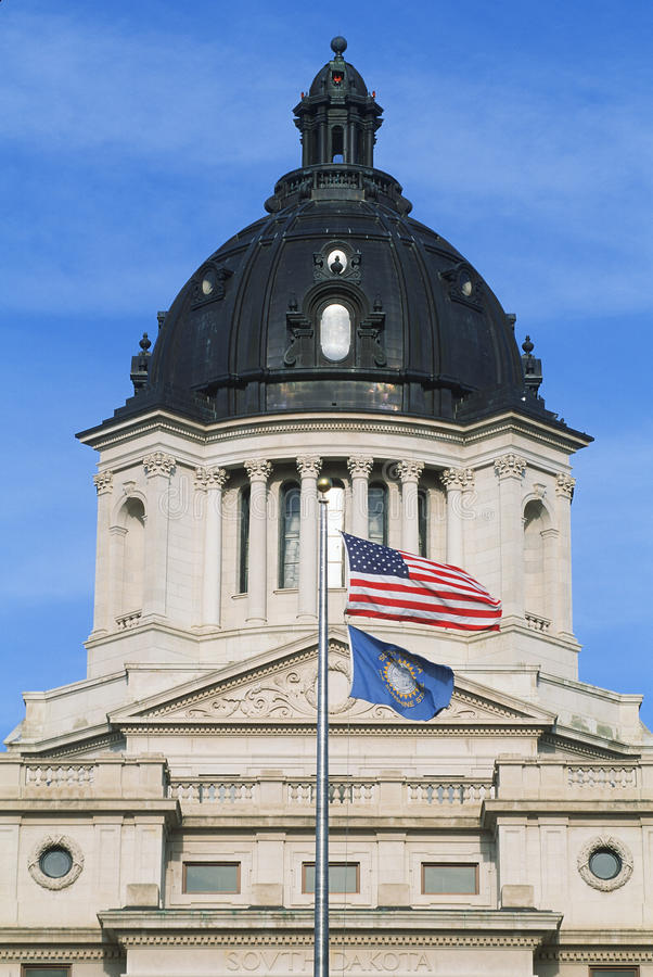 State Capitol of South Dakota stock photography
