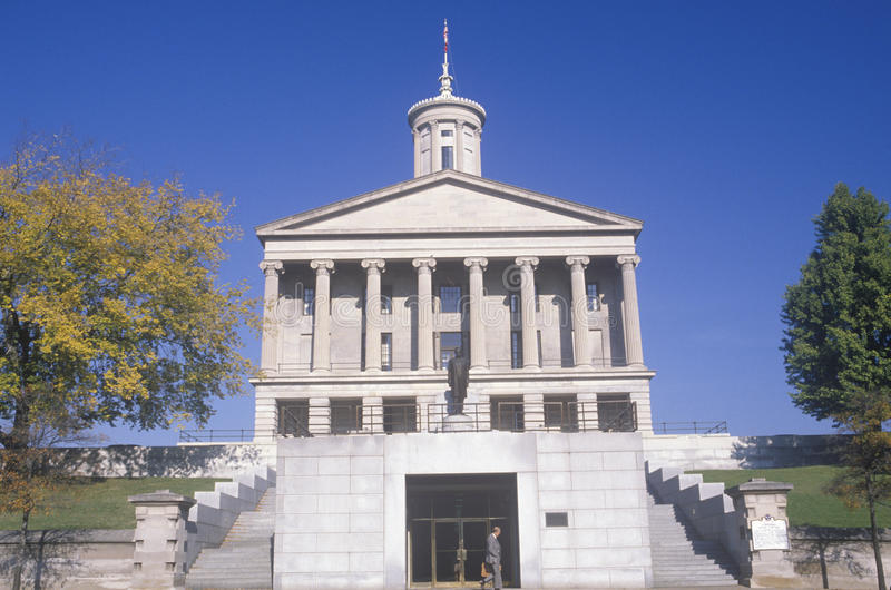 State Capitol Of Tennessee Stock Photos
