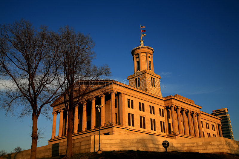 State Capitol Tennessee stock photos