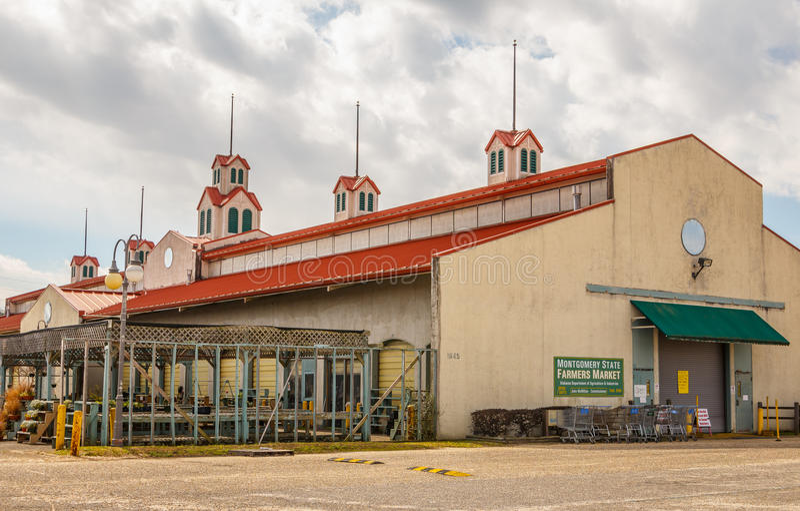 State Farmers Market, Montgomery Alabama royalty free stock image