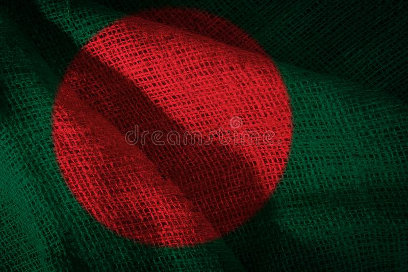 State flag of Bangladesh stock images