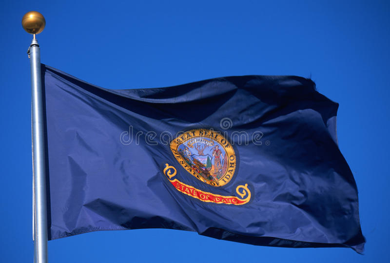 Download State Flag of Idaho stock photo. Image of flags, america - 23166002