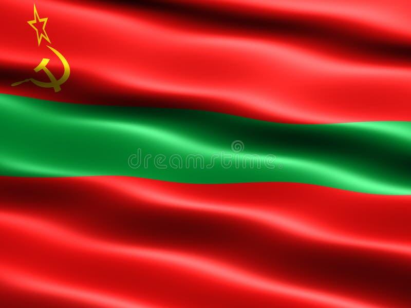 Download State flag of Transnistria stock illustration. Image of flag - 4927087