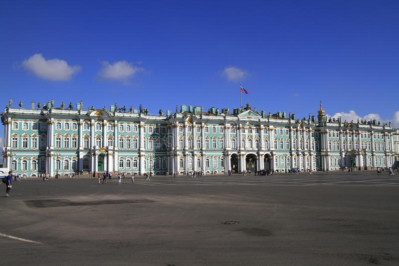 Download The State Hermitage Museum stock image. Image of building - 20438405