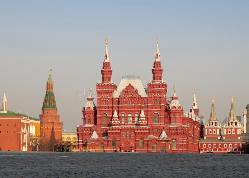 State Historical Museum, Moscow royalty free stock image