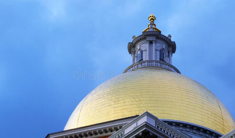 State House Dome stock photography