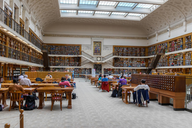 The State Libary of New South Wales in Sydney. Sydney,Australia on 4th Jan 2016:The State Library of New South Wales is a large reference and research library royalty free stock photo