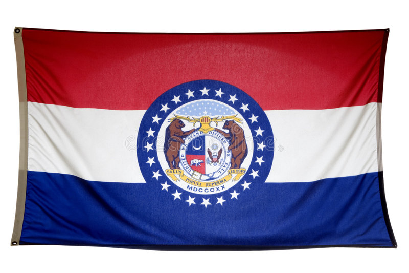 State of Missouri stock photography