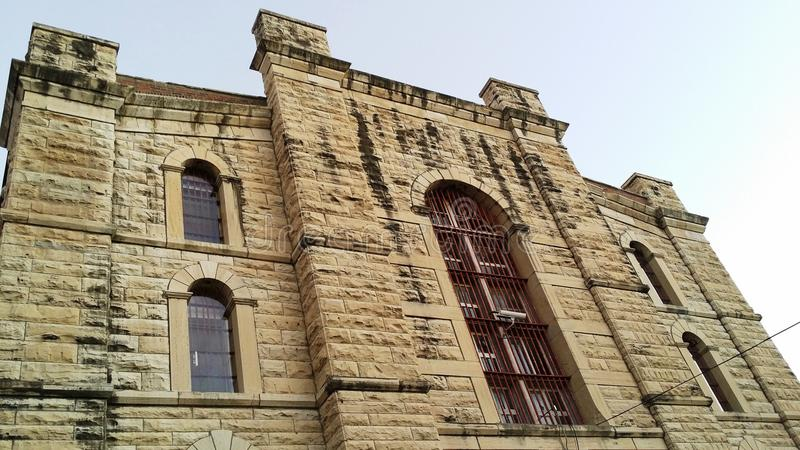 State Penitentiary Jefferson City. Missouri Historic State Penitentiary Jefferson City royalty free stock photos