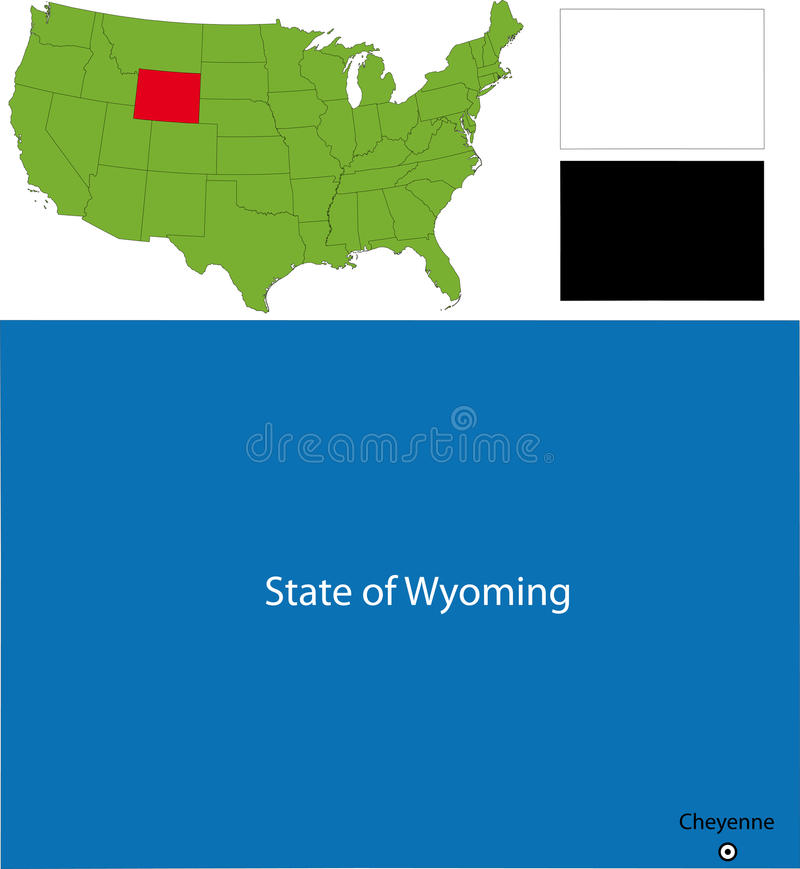 Download State Of Wyoming, USA Stock Photos - Image: 13314403