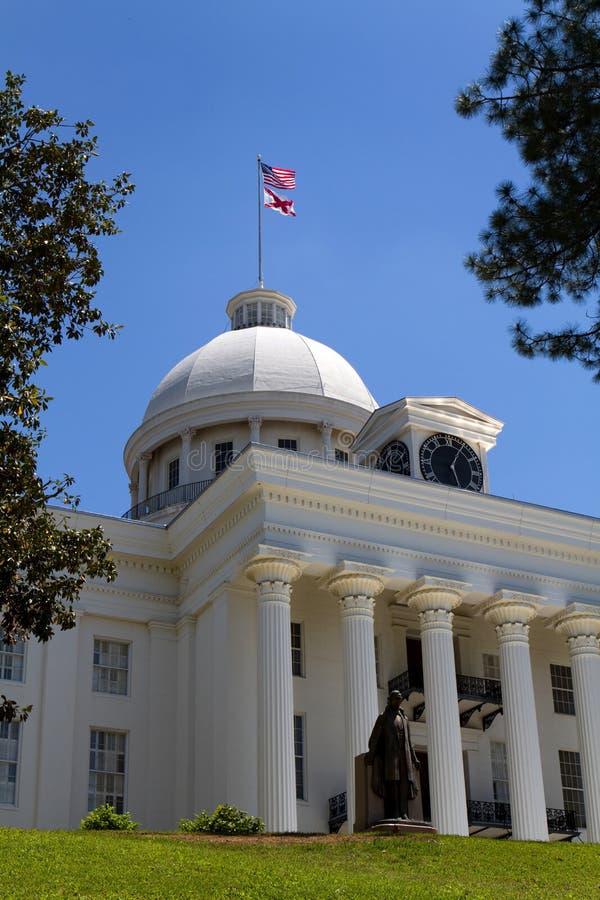 statehouse Алабамы стоковые фотографии rf