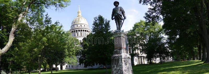 Statehouse av West Virginia i Charleston West Virginia USA royaltyfri foto