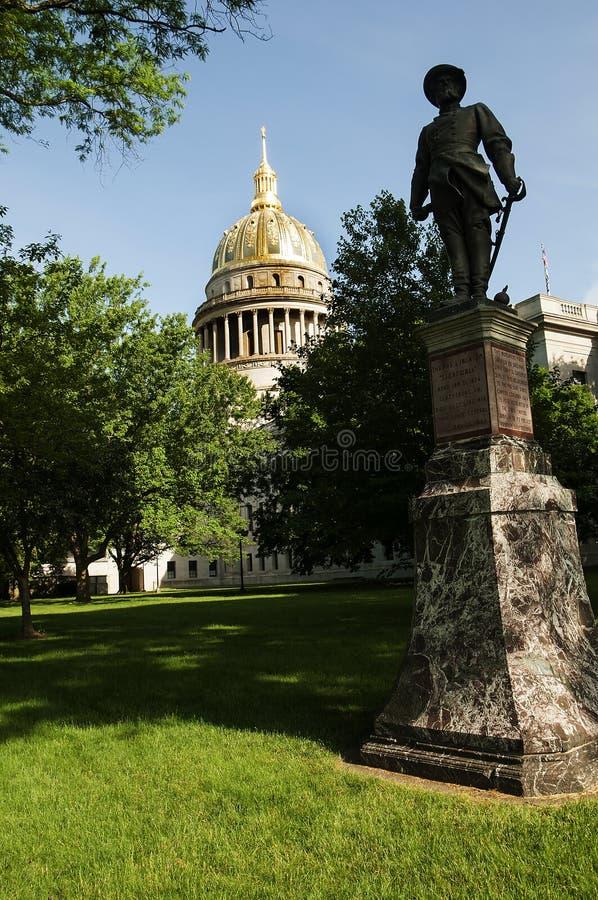 Statehouse de la Virginie Occidentale en Charleston West Virginia Etats-Unis photos stock