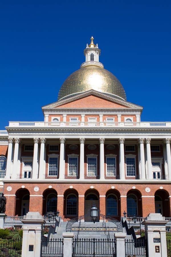 Statehouse de Massachusetts foto de archivo