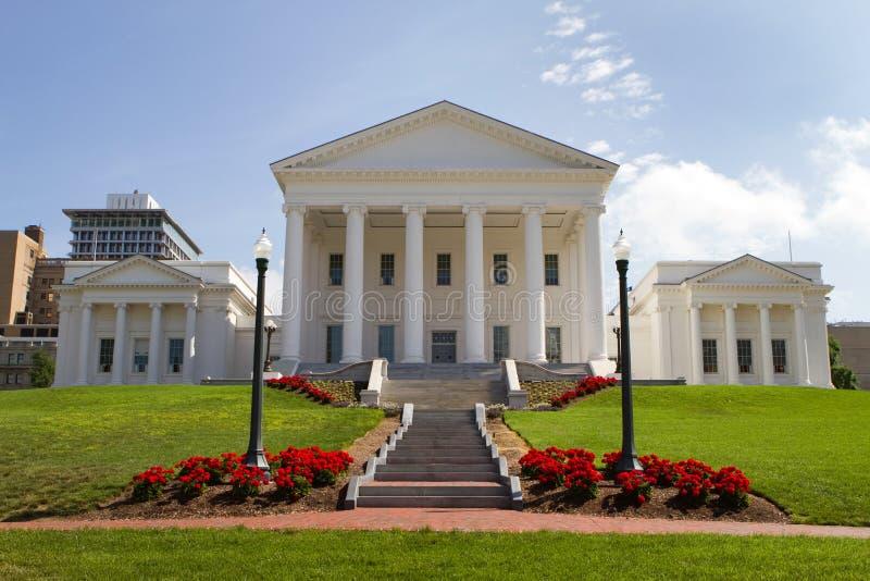 Statehouse de Virginia fotografía de archivo libre de regalías