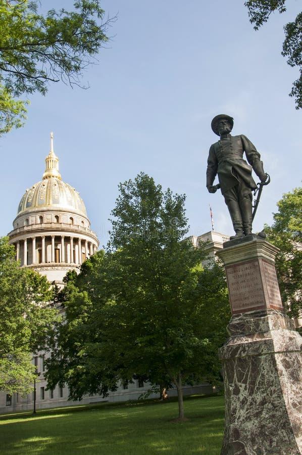 Statehouse del Virginia Occidentale in Charleston West Virginia U.S.A. fotografia stock libera da diritti